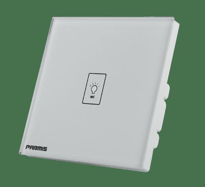 کلید لمسی سرویس بهداشتی هوشمند | پارمیس تولید کننده کلید لمسی