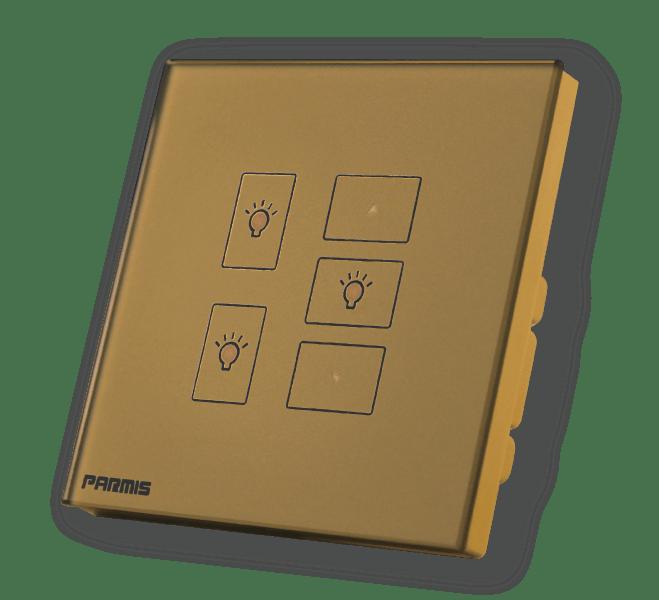 کلید لمسی دیمری پارمیس | پارمیس تولید کننده انواع کلیدهای لمسی