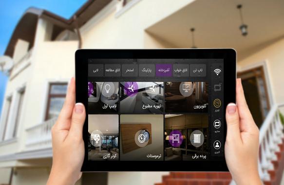 خانه هوشمند پارمیس | کلید لمسی